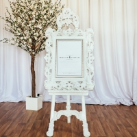 White Easel and Mirror