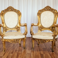 French Gold Throne - Set 1