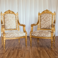 French Gold Throne - Set 2