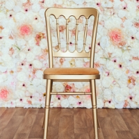 Gold Cheltenham Chair with Gold Seat Pad