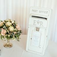 Small Ivory Post Box