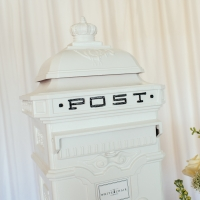 Ivory Large Post Box